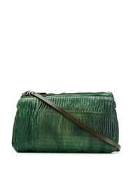 Numero 10 Ruched Shoulder Bag Green