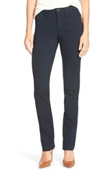 Petite Women's Nydj Five Pocket Stretch Ponte Skinny Pants