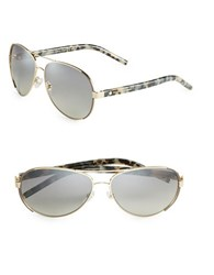 Marc Jacobs 60Mm Aviator Sunglasses Pallad Blue