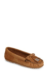 Minnetonka 'Me To We Artisans Maasai' Moccasin Women Taupe