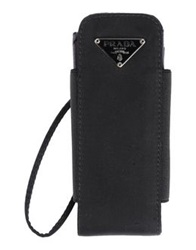 Prada Hi Tech Accessories Black