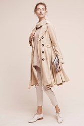 Anthropologie Edmond Trench Beige