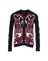 Just Cavalli Knitwear Cardigans Men Garnet