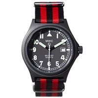 Mwc G10 Stealth Military Watch Luftwaffe Nato Strap