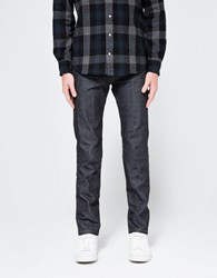 Naked And Famous Super Skinny Guy Left Hand Twill Selvedge Indigo
