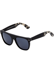 Retro Super Future Flat Top 'Ghost Rider' Sunglasses