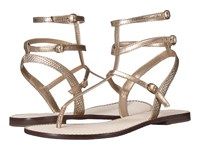 Lilly Pulitzer Gemma Sandal Gold Metallic Women's Sandals