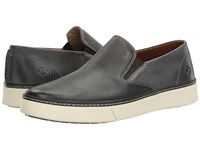 Sperry Clipper Twin Gore Charcoal Men's Lace Up Casual Shoes Gray