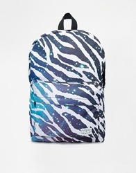 Spiral Space Zebra Backpack Black