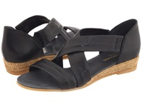 Eric Michael Netty Black Women's Sandals