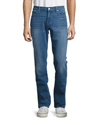 7 For All Mankind Mid Rise Five Pocket Jeans Endless Summer