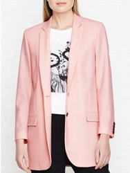 Paul Smith Ps By Long Length Blazer Pink