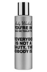 Comme Des Garcons Andy Warhol You're In Unisex Eau De Toilette If Everybody Is