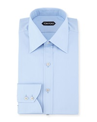 Tom Ford Slim Fit Classic Dress Shirt Blue