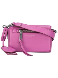 Marc Jacobs Recruit Crossbody Bag Pink Purple