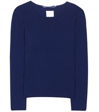81 Hours Carnabi Cashmere Sweater Blue