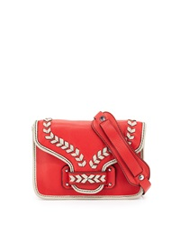 Oryany Reilly Leather Crossbody Bag Berry Multi
