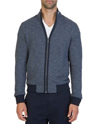 Nautica Full Zip Track Jacket True Navy