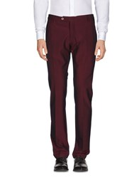 Michael Coal Casual Pants Maroon