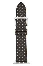 Kate Spade New York Apple Watch Strap 38Mm Black Gold