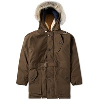 Nigel Cabourn Antarctic Parka Green