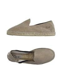Manebi Footwear Espadrilles Men Beige