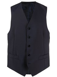 Dell'oglio V Neck Single Breasted Waistcoat 60