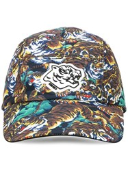 Kenzo 'Flying Tiger' Baseball Cap Multicolour