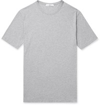 Mr P. Porter Health In Mind Printed Cotton Jersey T Shirt Gray