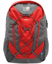 Karrimor Urban 30 Backpack From Eastern Mountain Sports Bright Red Charcoal