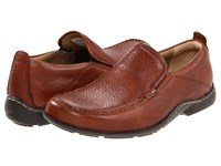 Hush Puppies Gt Brown Leather Slip On Shoes