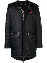 Philipp Plein Perfectly Fitted Coat Black
