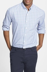 Bonobos 'Hubert' Standard Fit Tattersall Sport Shirt Blue