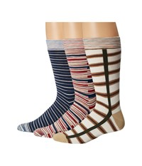 Missoni Pre Pack Trio Ankle Socks Multi