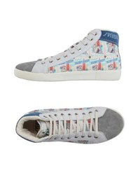 Springa Footwear High Tops And Trainers Men White