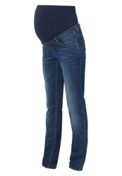 Esprit Maternity Straight Leg Jeans Stone Washed Stone Blue