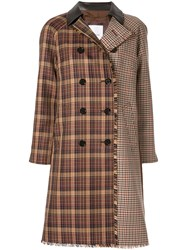 Loveless Deconstructed Coat Brown