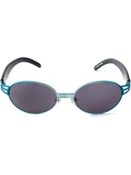 Jean Paul Gaultier Vintage 'Jpg' Sunglasses Blue