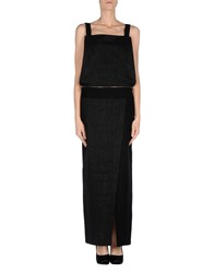 Oblique Dungarees Skirt Dungarees Women Black