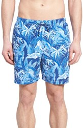 Tommy Bahama Men's Naples Oasis Blooms Swim Trunks Old Royal