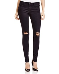 Black Orchid Jeans Jude Distressed Super Skinny In Blacklist