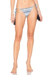 Somedays Lovin Ipanema Tie Bikini Bottoms Blue