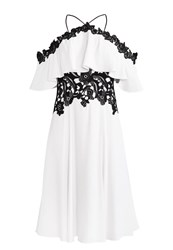 Karen Millen Cocktail Dress Party Dress White Off White