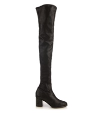 Edun Over The Knee Lacquered Leather Boots