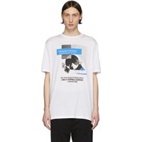 Haider Ackermann White Unfortunate Coincidence T Shirt