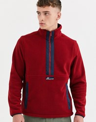 Craghoppers Ashfield Half Zip Jacket Red