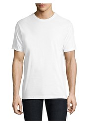 Saks Fifth Avenue Collection Three Pack Crewneck Tee Set White