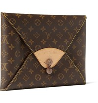 Visionaire Fashion Special Limited Edition Portfolio In Leather Louis Vuitton Case Brown