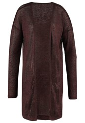 Vero Moda Vmelva Cardigan Decadent Chocolate Dark Brown