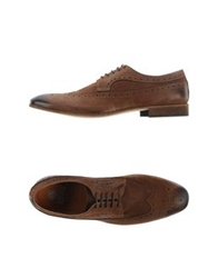 Enrico Fantini Lace Up Shoes Cocoa